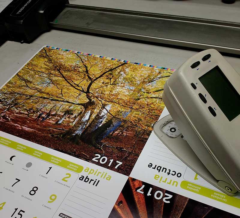 Control de color en impreso